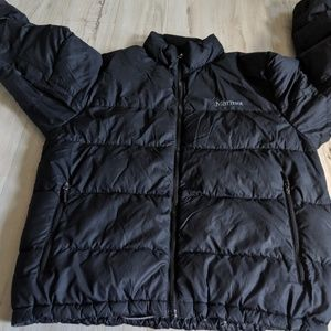 Marmot zip goose down mens coat winter puffer snow